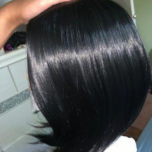 human hair bob wig